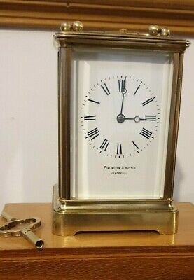 Repeating 8 Day Carriage Clock   Cornish Antique  In Full Working Order