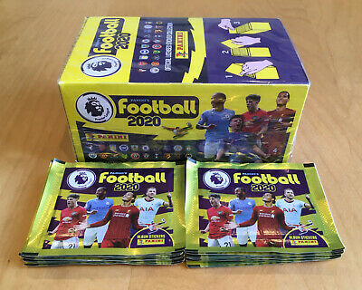 100 pack Box - SEALED, NEW - Panini Football 2020 Premier League Stickers