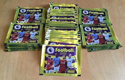 50 Packs - Panini Football 2020 Premier League Stickers - Brand New