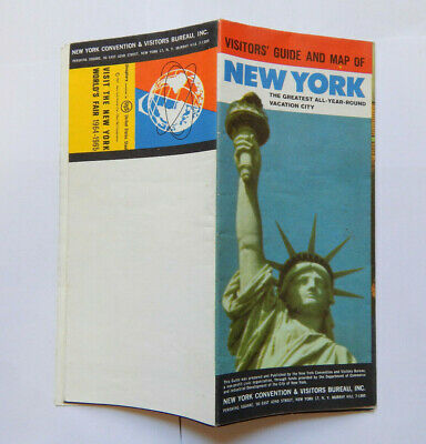 Visitors' Guide & Map of New York City World's Fair Edition (1964)