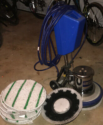 Commercial Floor Buffer And Scrubber