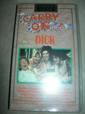 Carry On Dick. Vhs Video, Pg.