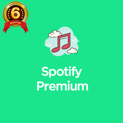 Spotify Premium 6 Months - Existing or New Account Upgrade
