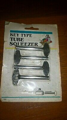 Vintage Nickel Plated Key Type Tube Squeezer New Old Stock 910 Kleeneze