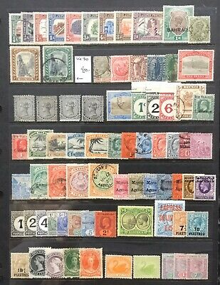 British Commonwealth All Periods General Mint & Used Tidy Up Lot