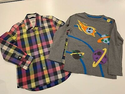 Boys Clothing Bundle Age 4-5 Boden Ted Baker Fred Perry
