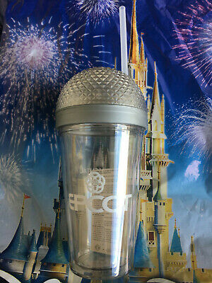 Disney Parks Epcot 2020 Spaceship Earth Glow Tumbler Light-Up Cup New