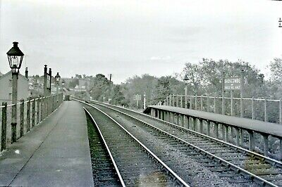 Larger size b&w negative Shoscombe & Single Mill Halt 1950s Sold with copyright2