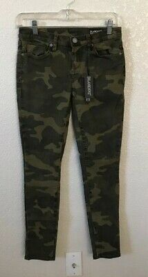 NWT Blank NYC Women's Reade Crop Camo Ankle Casual Skinny Jeans Size 25