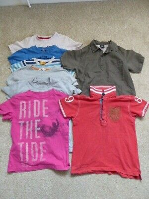 Boys H&M, TU, ASOS, Next, GAP and George Top Bundle Age 4-5 Years Condition:Used