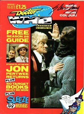 Doctor Who Magazine Issue 147 - Signed by STEVE ISMAY