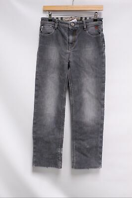 Kids Boys BURBERRY Grey Distressed Straight Leg Denim Jeans Size 14yrs - C16