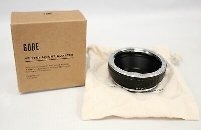 GOBE EF-M4/3 Lens Mount Adapter - Boxed With Cloth Bag - Y90