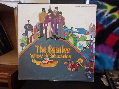 The Beatles Yellow Submarine LP 1969 pressing Only A Northern Song
