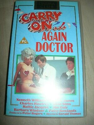 Carry On Again Doctor vhs video.