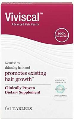 Womens Viviscal Advanced Hair Health Extra Strength 120 Tablets Expires 10/2022