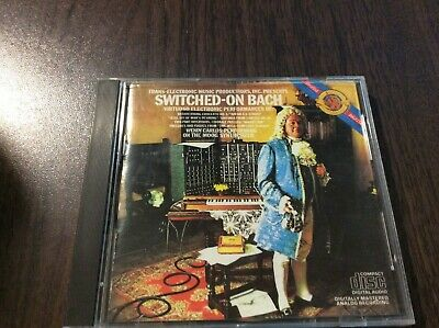 Switched-On Bach by Wendy Carlos (CD, CBS Records)