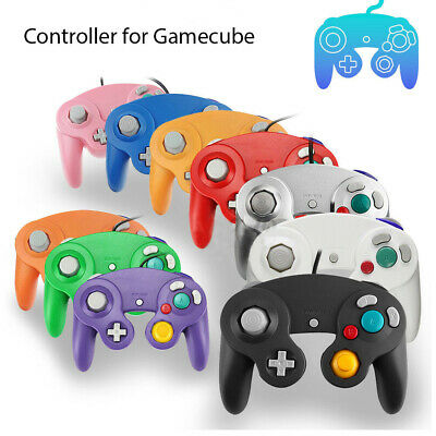 Wired Classic Remote Controller Game Pad for Nintendo GameCube GC & Wii New CD