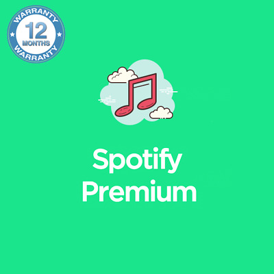 Spotify Premium 12 Months - Existing or New Account Upgrade