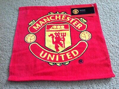 Manchester United FC Face Cloth Flannel Official Merchandise Brand New With Tag