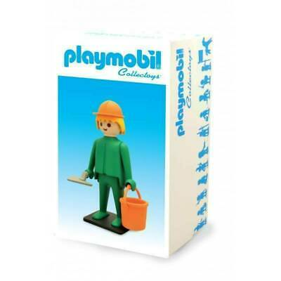 Playmobil Collectoys Construction Worker New Boxed - Vintage Collector Ref 214