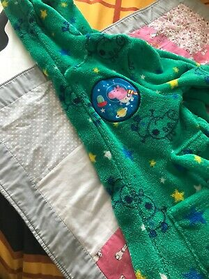 Peppa Pig George  Dressing Gown 1/12 To 2