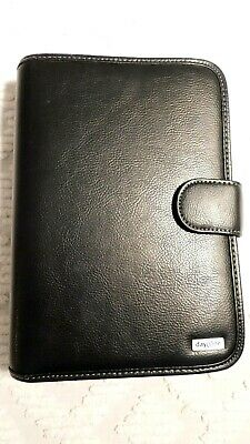 Franklin Covey Day One 1 Seven Ring Planner Binder Organizer Black