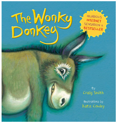 The Wonky Donkey Paperback ISBN 9781407195575 Hilarious Pictures Book NEW!