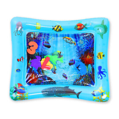 Inflatable Baby Water Mat Novelty Play for Kids Children Infants Tummy Time Mat