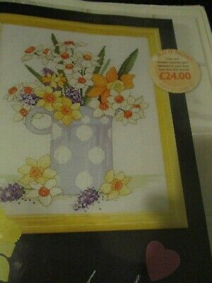 'Spring Is In The Air' cross stitch chart(only)