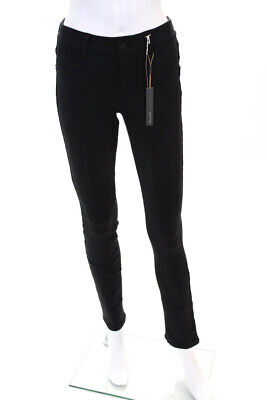 Level 99 Womens Liza Casual Mid Rise Skinny Slim Leggings Pants Black Size 28