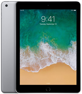 Apple iPad (5th Gen) - 32GB Wi-Fi Only Space Gray