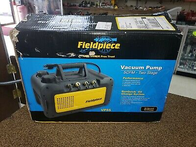 Fieldpiece VP55 5 CFM Vacuum Pump -Oil Change System - 115V