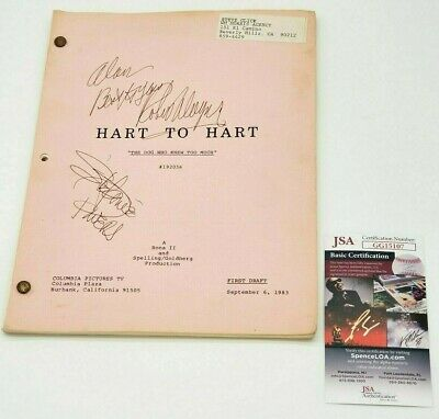 HART TO HART ROBERT WAGNER /& STEPHANIE POWERS AUTOGRAPH SIGNED PP PHOTO POSTER