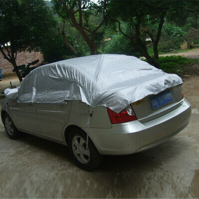 FULL COVERING CAR COVER PROTECTION SHIELD TARPAULIN FOR SMART 265x147x119cm BLUE