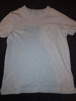 boys NEXT light blue top age 5-6 years