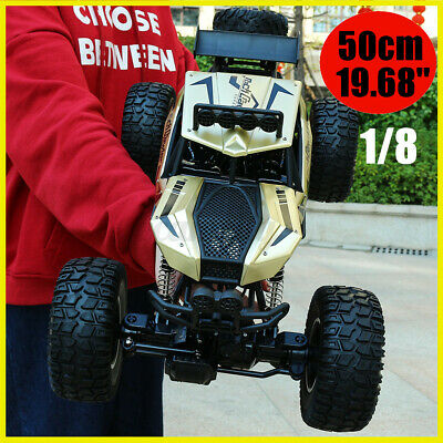1:8 RC Car 2.4G 4WD Remote Control Vehicle Monster Buggy Off-Road Car Electric U