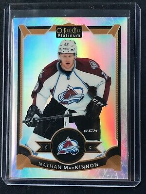 2015-16 O Pee Chee Platinum White Ice Nathan MacKinnon 15/199
