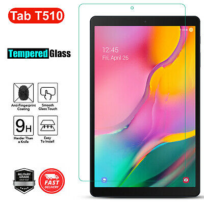 Tempered Glass Screen Protector For Samsung Galaxy Tab A 10.1 2019 SM T510 T515