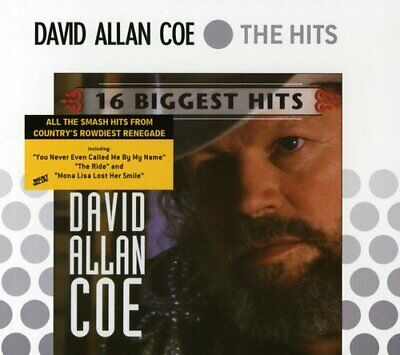 David Allan Coe : 16 Biggest Hits CD Highly Rated eBay Seller Great Prices