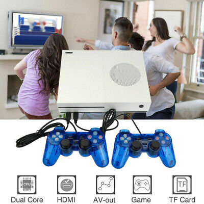 Retro Home TV Video Game Console Support 32GB HDMI Built-in 600 Games 2 Gamepads