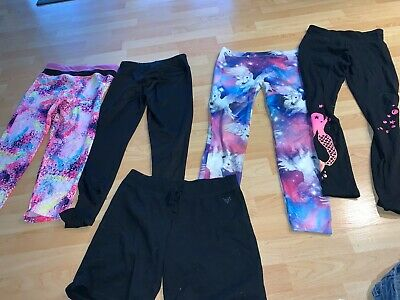 Supercute! Awesome Lot! Girls Leggings Lot Mermaid Unicorn Justice  sz 14