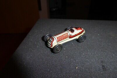 Distler Pennytoy vintage mint Blech Racing Car No.3  30ies pristine Prewar