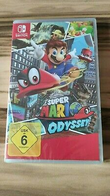 Super Mario Odyssey (Nintendo Switch) - NEU - sealed - BRANDNEU