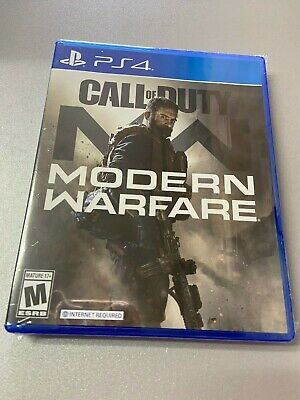 Call of Duty Modern Warfare PS4 Playstation 4 Game -SEALED