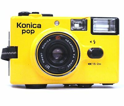 KONICA POP 35mm Camera With Konica Hexanon 36mm f/4 Lens  - C70