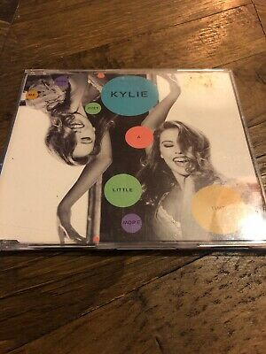 Kylie Minogue - Give Me Just A Little More Time - PWL UK CD Single Do You Dare
