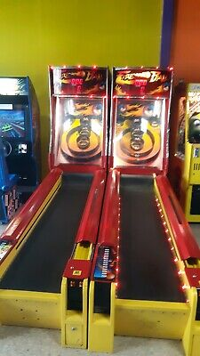 ******* Fire Ball Skeeball Redemption Arcade Video Game *******