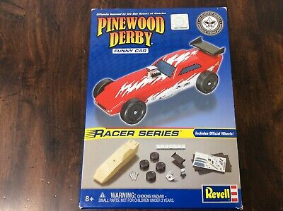 Revell Pinewood Derby Batmobile Racer Series Kit Complete Official Boy Scouts
