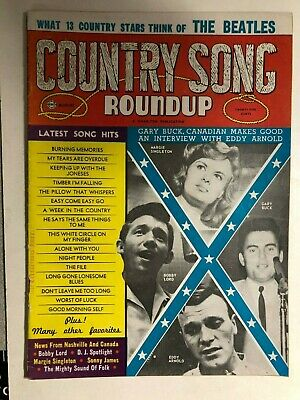 COUNTRY SONG ROUNDUP August 1964, Bob Dylan